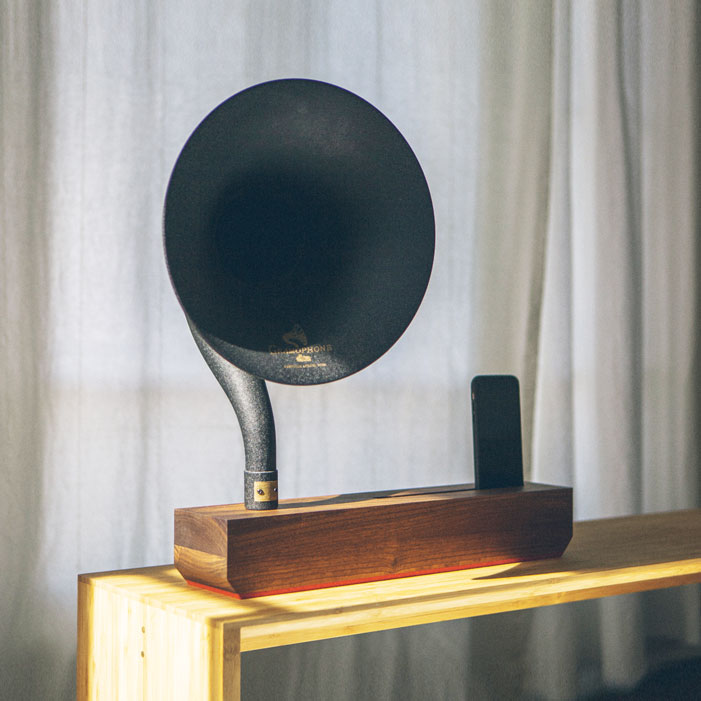 Wood Phonograph Amplifier
